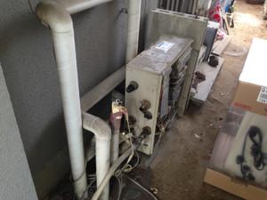 給湯器交換工事 長野市若里でガス給湯器交換工事